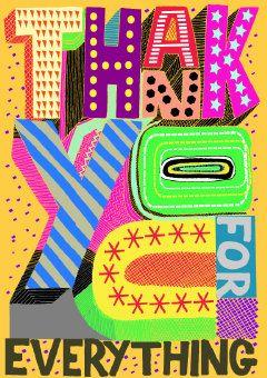 Roger la Borde | Thank You Card by Rupert Meats