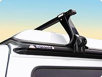 TOP-RAIL® con portaequipajes para vehículos T4 con techo elevable
