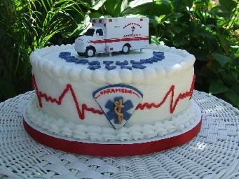 paramedic graduation cake | Paramedic Graduation Cake