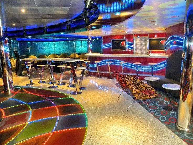Inside the Carnival Dream Cruise Ship