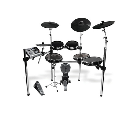 "Alesis have done it again by creating yet another fantastic electronic drum kit with an amazing set of features at a bargain price. New additions to this 2011 model include a redesigned heavy duty rack system, 10"" & 12"" drum pads, 12"",14"" & 16"" cymbal pads and a module that contains over 1000 sounds complete with dynamic articulation that uses multi sampling to create life like changes within the playing velocity of real drums."