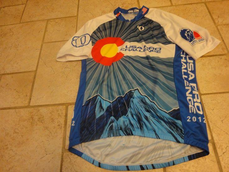 2012 Pearl Izumi Custom USA Pro Challenge CO Bike Cycling Racing Jersey Medium