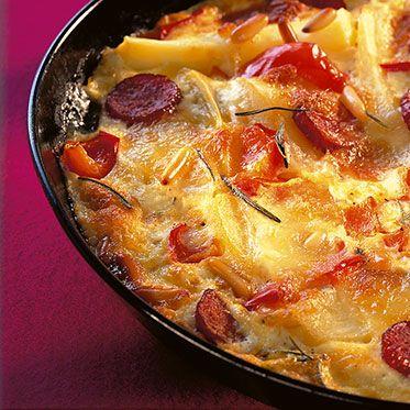 Zigeuner-Kartoffelblech Rezept | Küchengötter                                                                                                                                                                                 Mehr