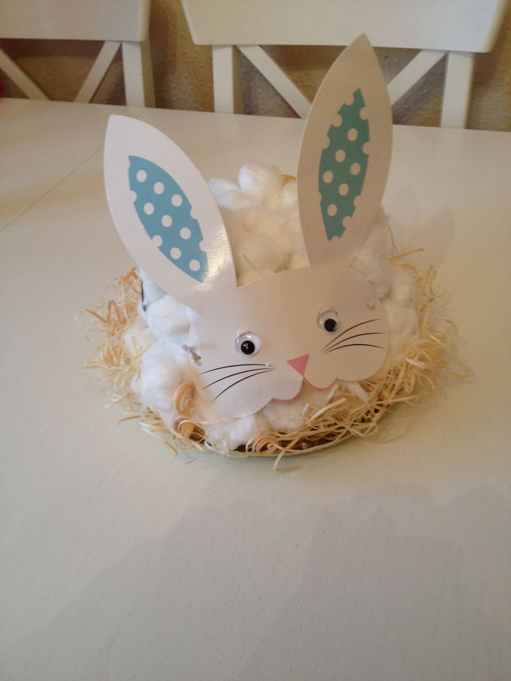 Easter bonnet bunny for toddlers
