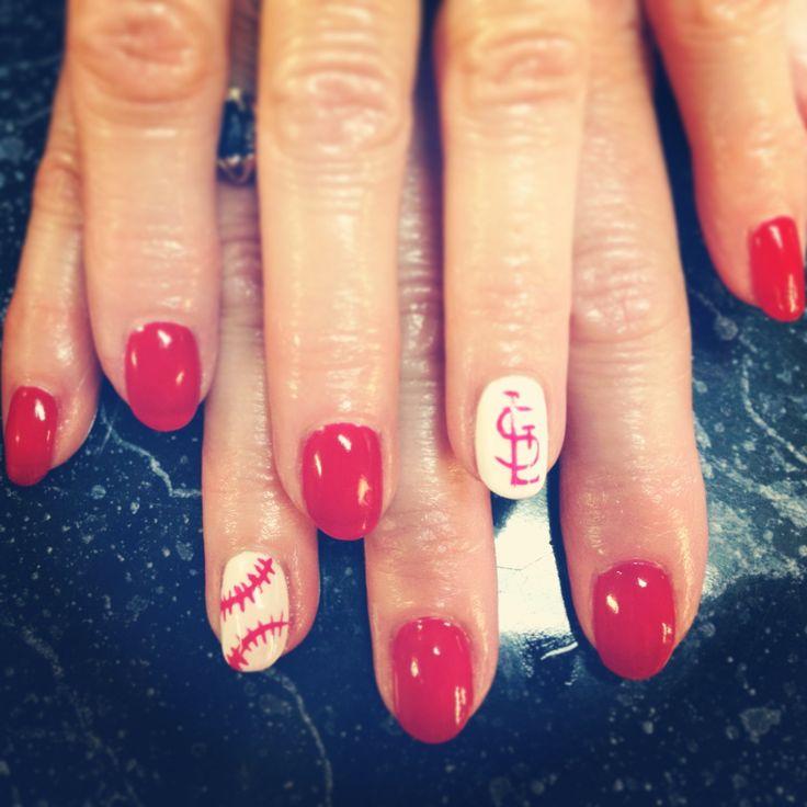 20 Best Cardinal Nails Images On Pinterest