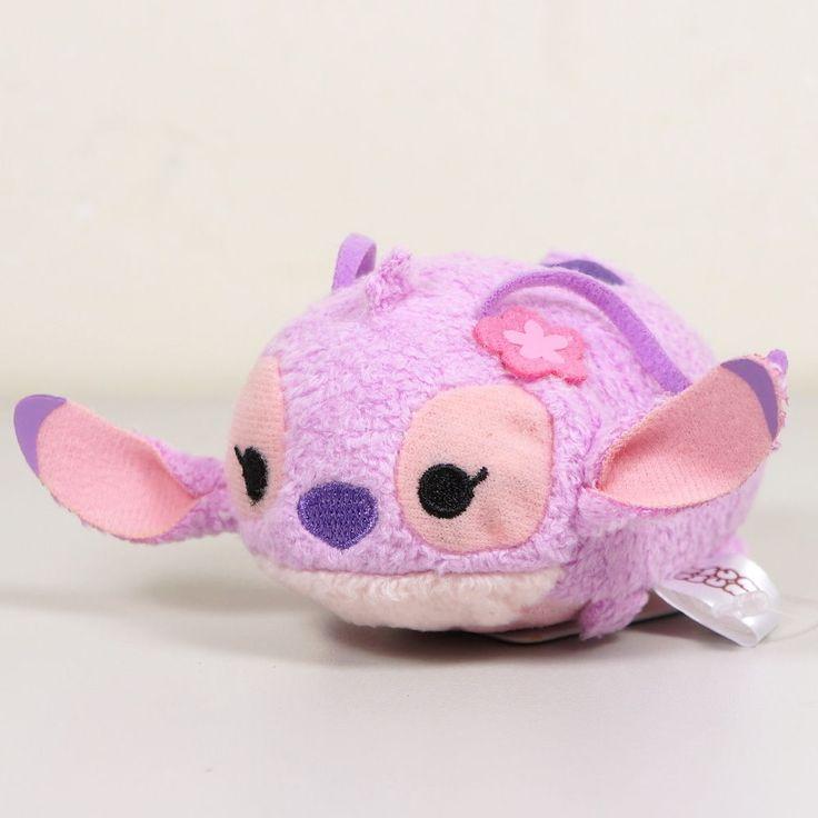 "Japan Disney Store ANGEL Beanbag Plush TSUM TSUM 3"" #Disney"