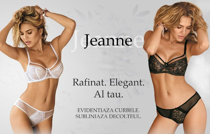 Lenjerie de lux Jeanne Avalingerie