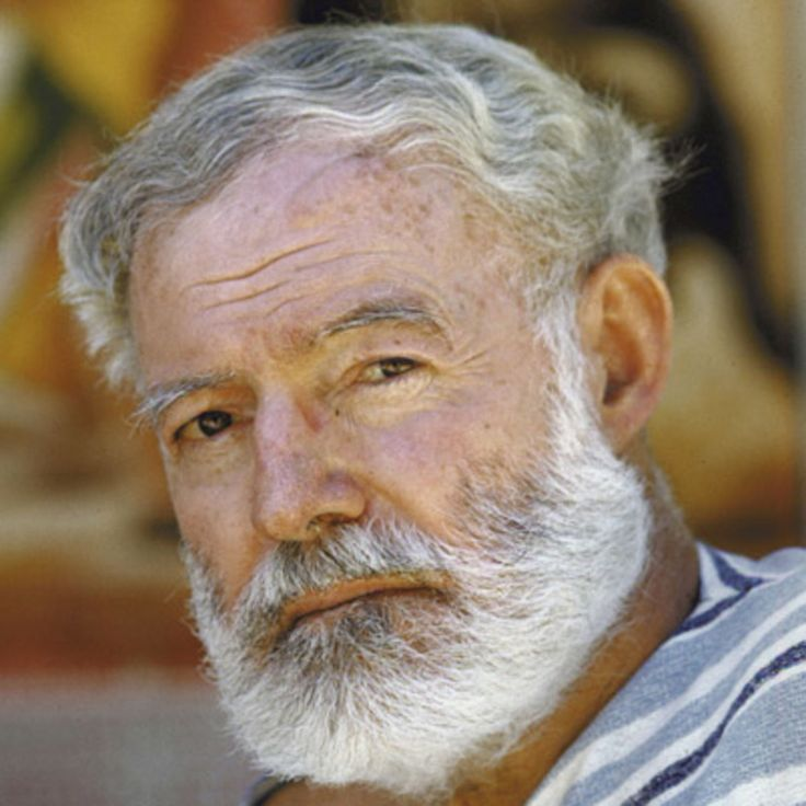 Ernest Miller Hemingway (July 21, 1899 – July 2, 1961). A novelist, short story writer and journalist. Has written books such as The Sun Also Rises, A Farewell to Arms and For Whom the Bell Tolls.