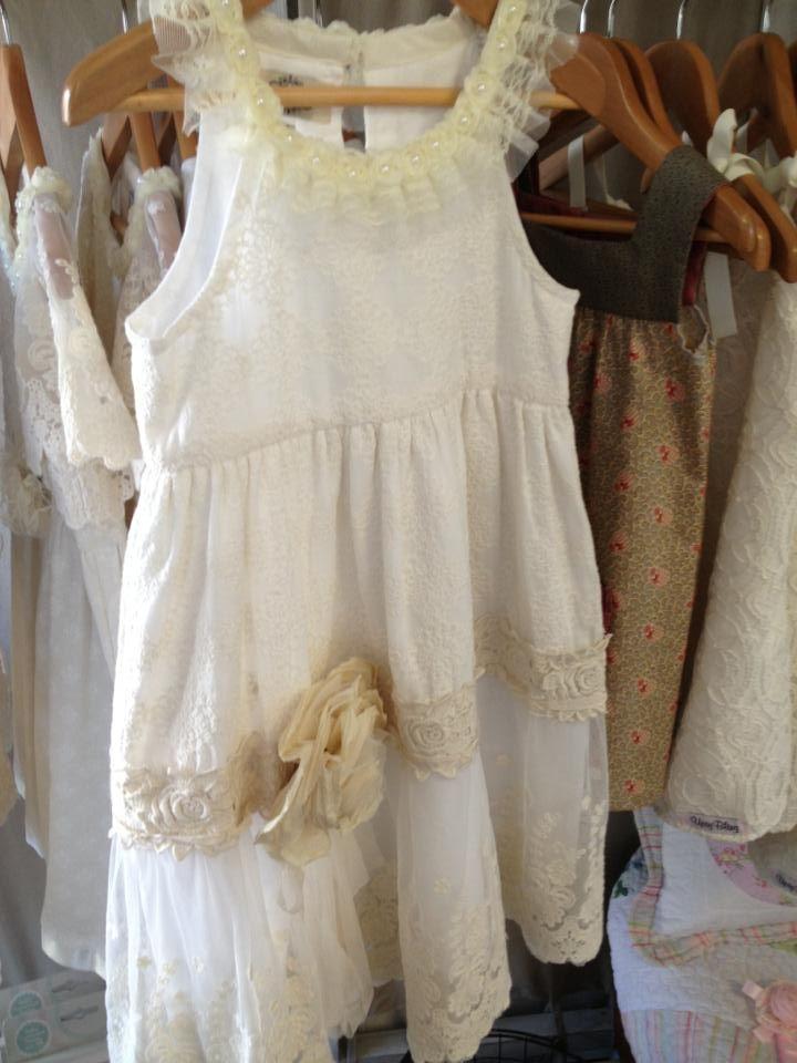Vintage Flower Girl Dress Wedding Pinterest Vintage