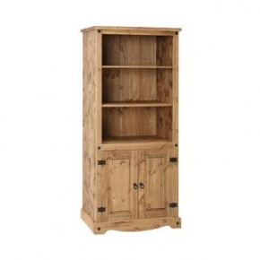 £179 Corona Mexican Pine 2 Door Bookcase CR903  http://www.easyfurn.co.uk/solid-oak-furniture-Bedroom/Corona-Mexican-Pine-Bedroom/Corona-Mexican-Pine-CR903