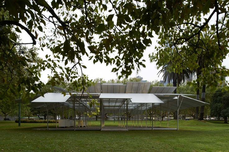 #Art and #shade: MPavilion opens in #Melbourne  A new #pavilion in the Queen Victoria Gardens is designed to provide shade – and free #culture events – in the summer