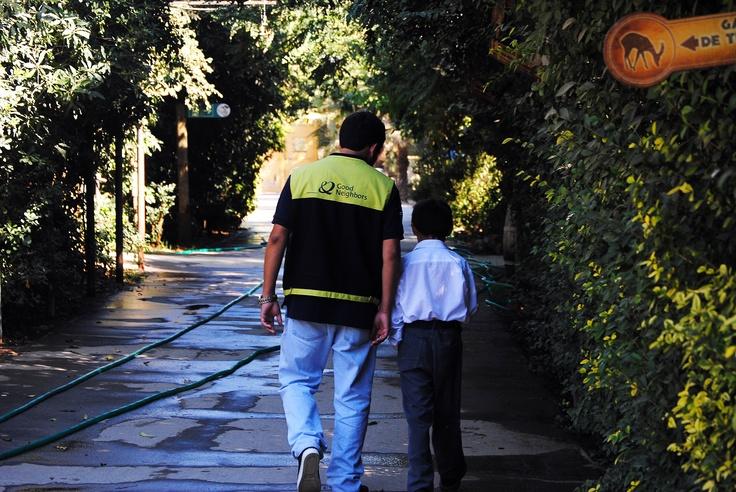 Una visita al zoológico de Buin (SANTIAGO) con niños del de Centro de Protección Pudahuel.