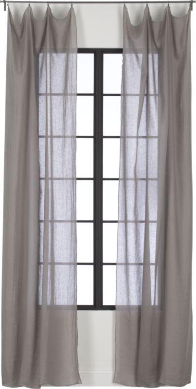 Window Dresser 100 Pure French Belgian Linen Weaves A Light Filtering Sheer With Drape So Fine