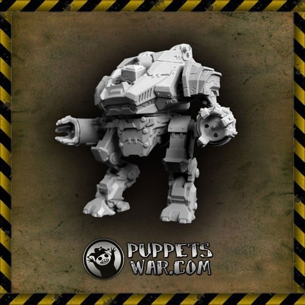 Our Enforcer Battlewalker. 82mm of pure power. https://puppetswar.eu/product.php?id_product=322