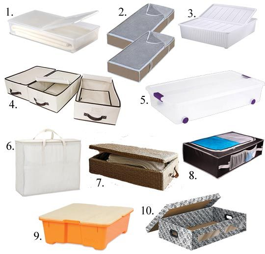 """""""Underbed Storage: Products, Tips & Projects"""", featuring the DILLING underbed storage box. (click to see the full post)"""