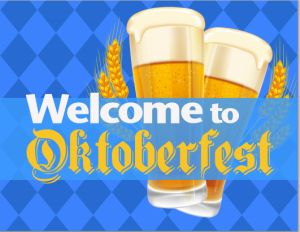 Free downloadable PDF sign for your Oktoberfest party. Find other Oktoberfest party ideas at http://sparklerparties.com/blog/oktoberfest-party-fun/