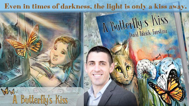 """Support """"A Butterfly's Kiss"""" #childrenbook by David Faustina on #Kickstarter  #butterflyskiss #books"""