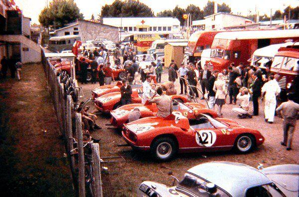 1964 Ferrari at Les Mans