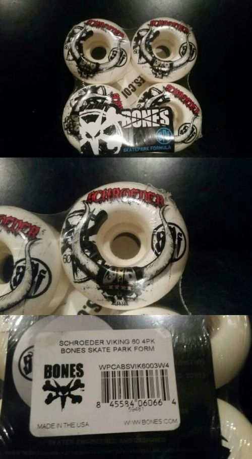 Wheels 165946: New Bones Ben Schroeder Viking 60Mm Spf Skateboard Wheels -> BUY IT NOW ONLY: $50 on eBay!