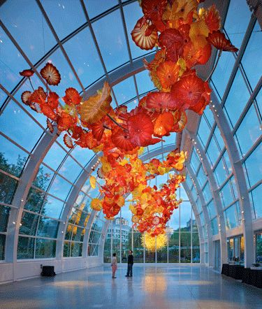 Chihuly Garden and Glass Museum in Seattle WA. I've been there!