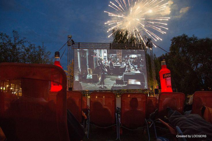 Aperol Spritz Open-air Cinema 2014 in Prague