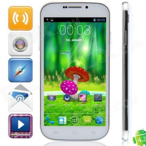 S20i MTK6572 Dual-core Android 4.2.2 WCDMA Bar Phone