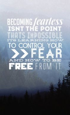 A quote from Divergent that people should really listen to