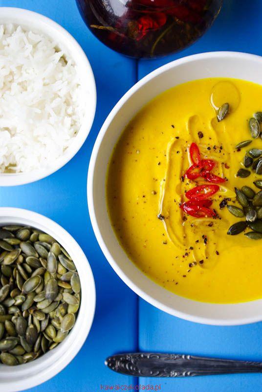 Pikantna zupa dyniową
