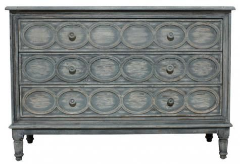 The French Fanette 3 drawer chest from Block and Chisel.