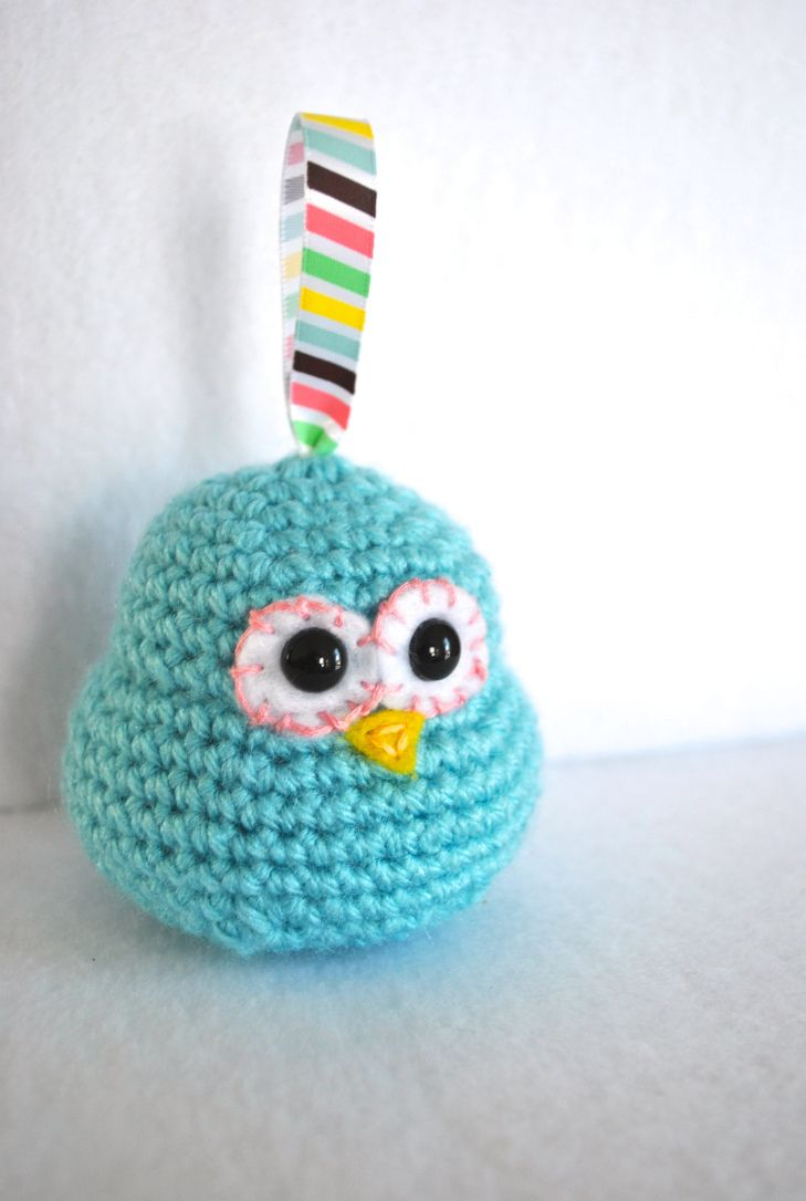Candy the Bird Free Amigurumi Pattern PDF