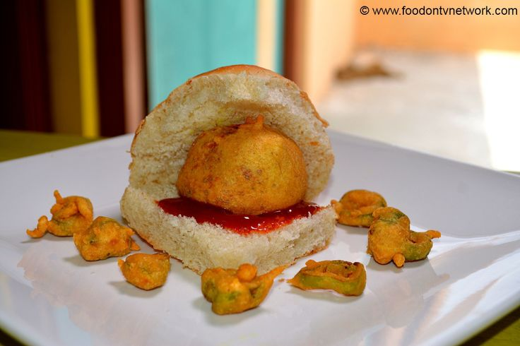 Vada Pav Recipe | Indian Fast Food Recipe | How To Make Vada Pav