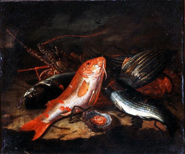 Giuseppe Recco - Bodegón con peces - Public Domain, https://commons.wikimedia.org/w/index.php?curid=32074668