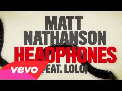Matt Nathanson - Headphones (Lyric Video) ft. LOLO - YouTube