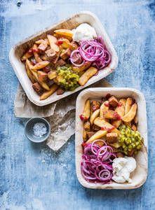 Vegaaniset makkaraperunat   K-Ruoka #kasvisruoka #vegaaninen #vegaani