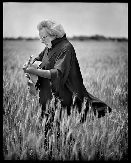 jerry garcia by marc seliger