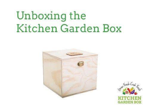 Kitchen Garden Box Unboxed - YouTube
