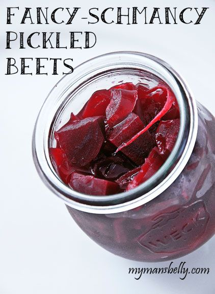 Fancy Schmancy Pickled Beets Recipe. Used reg sugar apple cider vinegar and white vinegar lemon peel for garnish. Doubled recipe made 4 pints. I jumbo onion and 4 large beets