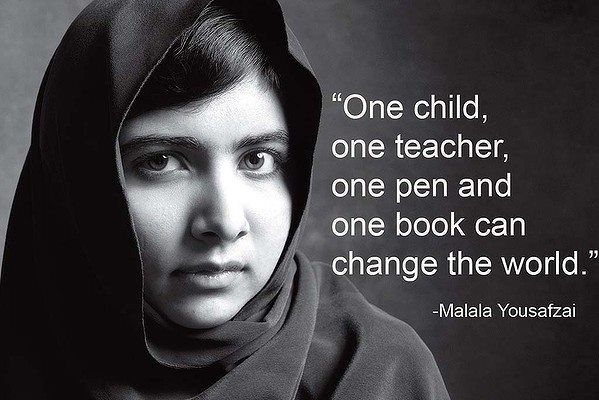 """""""One child, one teacher, one pen and one book can change the world."""" #Alagappa #Institute #of #Technology."""