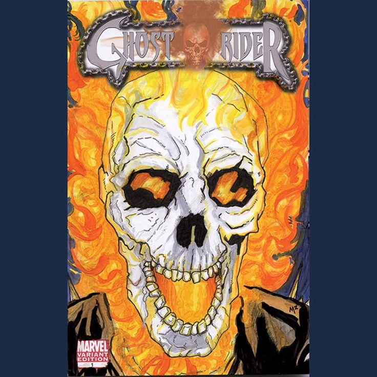 "Photo of 14 Likes, 1 Comments – Michael Munshaw (@artofm2) on Instagram: ""There's a… – Ghost Rider coloring pages"