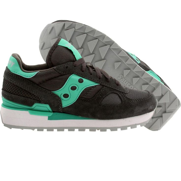 Saucony Women Shadow Original (gray / charcoal / teal) Shoes S1108-587   PickYourShoes.com