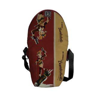 Harley Quinn Bombshell Messenger Bags