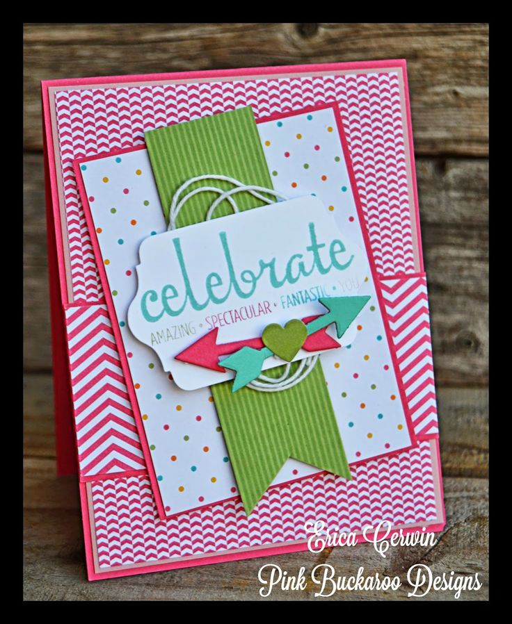 Pink Buckaroo Designs- New Stampin' Up goodies: Fabulous Four, Amazing Birthday, Everyday Adventure Project Life by Stampin' Up Card http://pinkbuckaroodesigns.blogspot.com/2014/06/fabulous-four-scic186_3.html