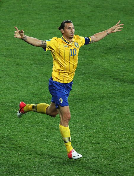 Zlatan Ibrahimovic  star of my Grandfather's homeland Sweden