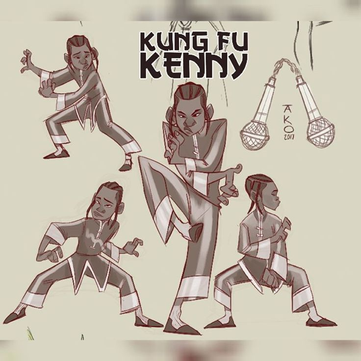 Kung-Fu Kenny: Enter The M.I.C