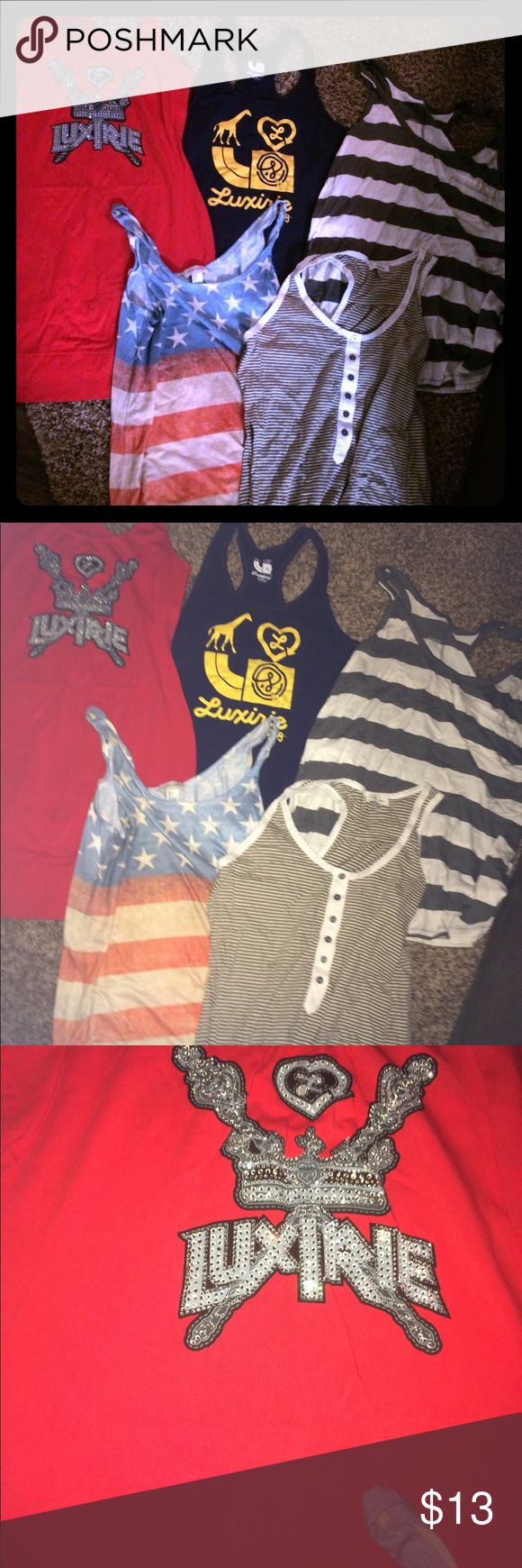Best 25 old american flag ideas on pinterest old canadian flag 5 for 1 lot of tank tops luxire old navy f21 buycottarizona