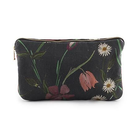 Fleurelle Clutch - Ebony