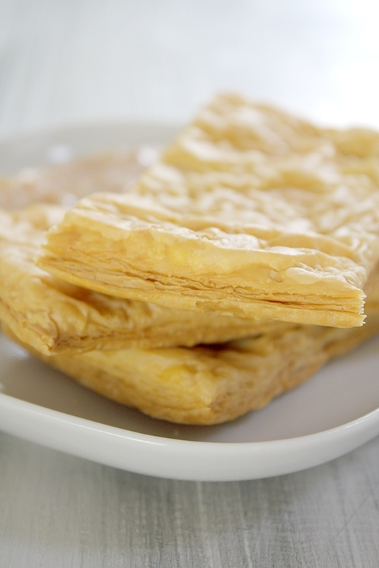 make thin puff pastry phyllo for Napoleon. Just follow the instructions!
