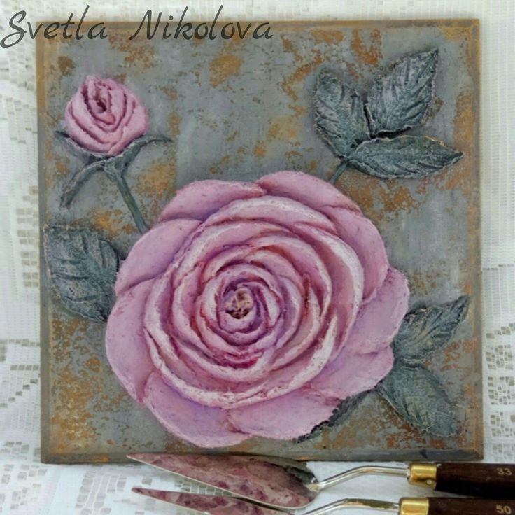 """Пано,,Pink,grey and gold"""""""