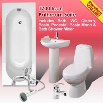 Cheap bathroom suites
