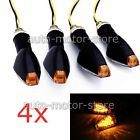 ♢⌂ 4X UNIVERSAL MOTORCYCLE 14 LED TURN SIGNALS INDICATOR LIGHT AMBER BLIN... http://ebay.to/2kCOlJ2
